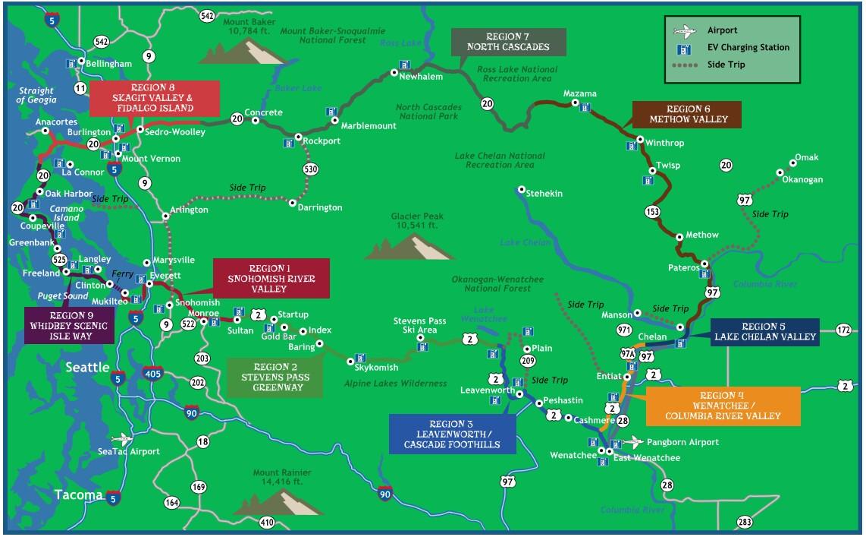 Cascade Loop Map The WhyWeLoveSkagit Team   Cascade Loop Map   The WhyWeLoveSkagit Team Cascade Loop Map